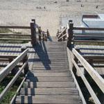 trappen worden door wandelaar op verschillende manieren gebruikt