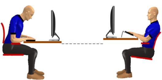 beinvloed je werkhouding met ergonomisch meubilair
