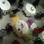 de hoeveelheid aan stoelen per vierkante meter afhankelijk van persoonlijkheid