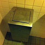 Figuur - Hoe open je deze vuilnisbak zonder vieze vingers te krijgen?