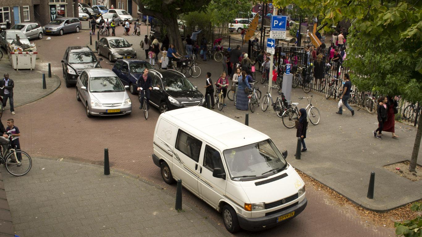 schoolomgeving autovrij verbetert verkeersveiligheid rondom scholen