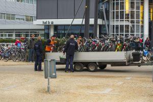 fietsenstalling verkeerd stallen ut