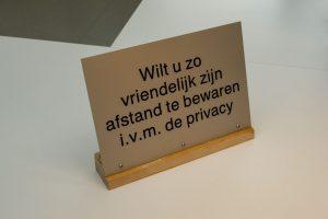 privacy en ruimte